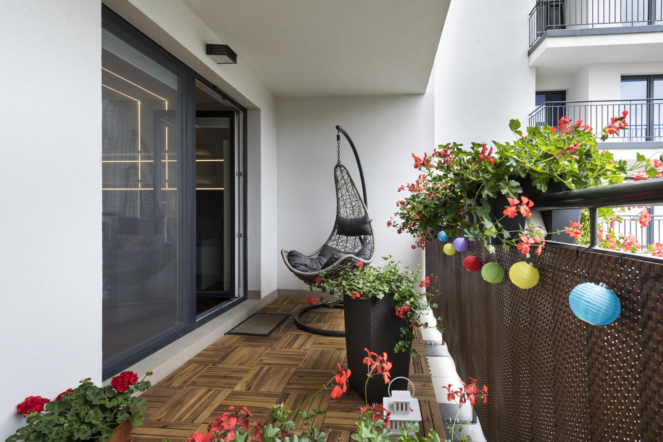 Balkon w nowych budynkach jest standardem