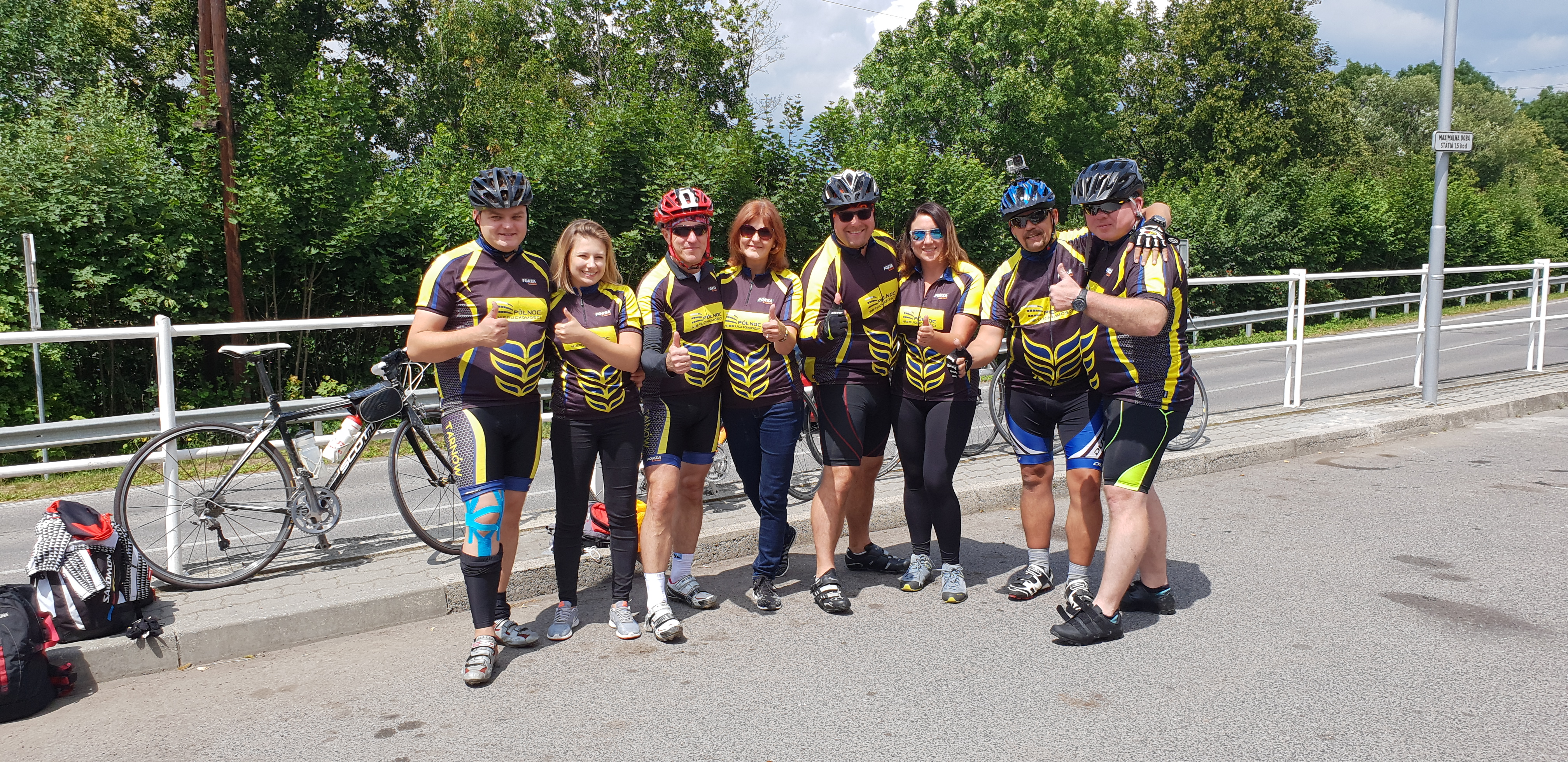 W Tour de Tatry wzięła udział cała ekipa Północ Nieruchomości