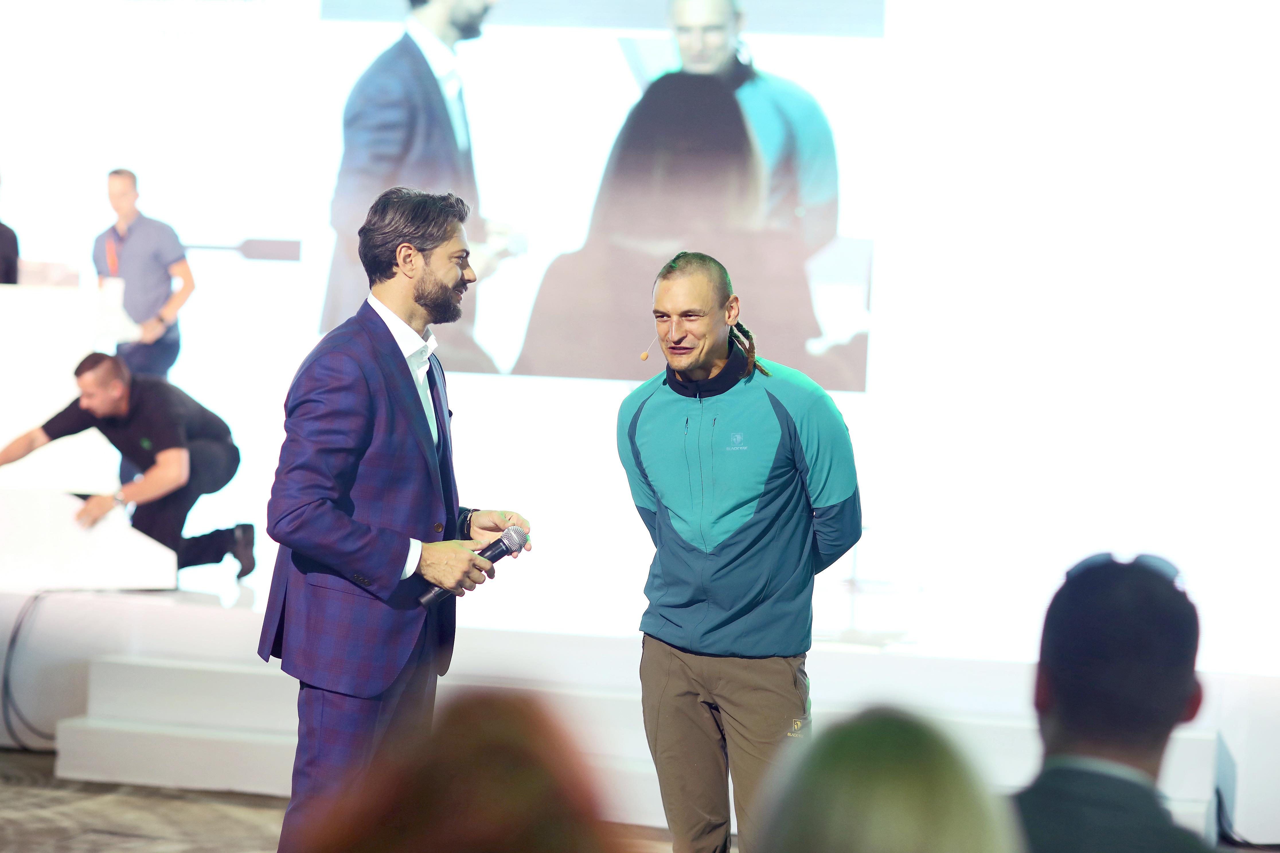 Adam Bielecki podzielił się z uczestnikami relacjami ze swoich wypraw