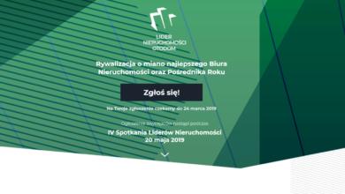 Photo of Dane w konkursie Lider Nieruchomość